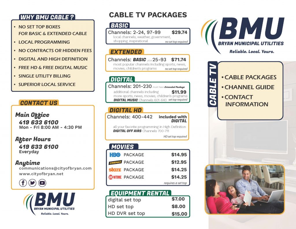 Cable TV – BMU